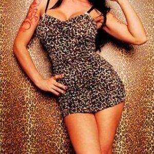 """Pinup Couture """"Marilyn"""" Leopard Print Swimsuit"""